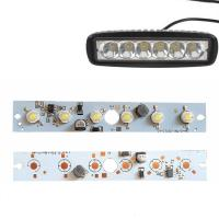 Quality Custom Vehicle LED PCB Board 18W Driver Integrated DC12-80V For LED Work Lights Parts for sale