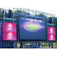 Buy Concert P8 Outdoor LED Display Board Die Casting Aluminum Cabinet 1/4 Scan Driving at wholesale prices