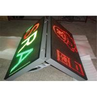 P8 Street Advertising Signs , Board Front Open Double Sided LED Display