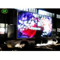 Buy Video Outdoor Mobile Truck Led Display , Trailer / Vehicle Mobile truck mounted led screen at wholesale prices