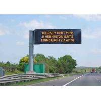 Quality Fixed Electronic LED Traffic Display Full Color  Brightness ≥ 7500 cd/sqm for sale
