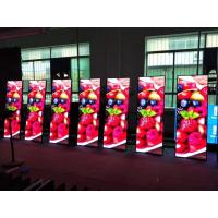 Quality Super Slim Poster LED Display Advertising Poster 800~1500 Nits Aluminum Cabinet Material for sale