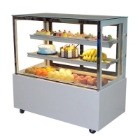 R404a Refrigerated Cake Display Cabinets With Danfoss Compressor