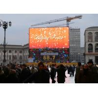 Quality P10 Transparent Glass LED Display , Transparent Glass LED Screen Video Wall For Store for sale