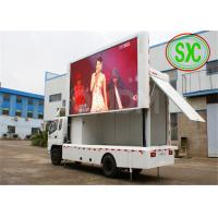 Quality Exterior Truck Advertising LED Screens For Festivals / Motor Shows OEM for sale