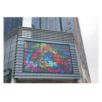 Quality High Gray Scale Transparent Glass LED Display Full Color 4100 Nits Brightness for sale