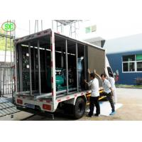 Quality Mobile LED Screen Truck Full Color Vehicle Mounted Led Truck Advertising Pitch 6mm for sale