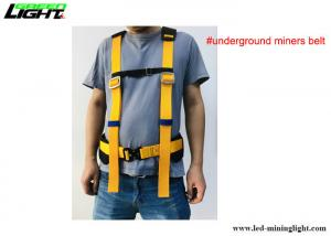 Miner's Belt with Padded Shoulder straps, Universal size and all the buckles are adjustable