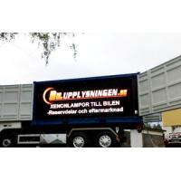 Customized Moblie Truck Trailor Outdoor Led Display Boards P8 Aluminum Energy Saving