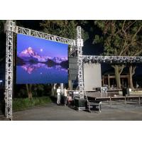 China 25W P3.91 Outdoor Rental LED Display Stage Screen High Resolution SMD2727 With No Fans on sale