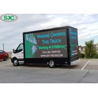 Quality Shockproof Mobile Billboard Advertising Vehicle Screen P6 Customized Cabinet Size for sale