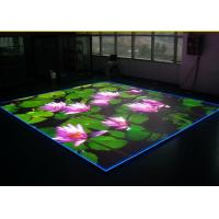 Quality P4 Dance Floor Led Display With Standard Cabinet Size 640 * 640mm for sale
