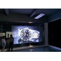 Quality Big Size Transparent Glass LED Display SMD3535 1R1G1B P10 LED Video Wall for sale