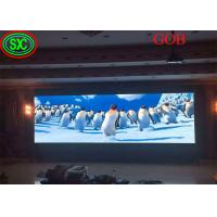 Buy Fixed Led Display video wall led tv backdrop GOB COB technology with CE ROHS FCC CB Certificates at wholesale prices
