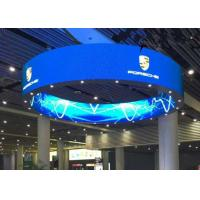Quality Round Flexible Curved LED Screen P2.5 mm 160000 dots/sqm For Entertainment for sale