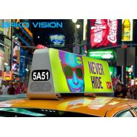 5500 Nits Aluminum Cabinet P5 P3 Taxi LED Advertising Screen