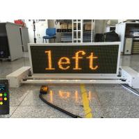 Quality 8mm Traffic LED Display 1/4 Scanning Driving Method 256x128mm Size for sale