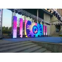 Buy Stage P6 Outdoor LED Display, LED Video Curtain Rental6000nits High Brightness at wholesale prices