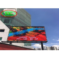 Full Color commerical Led Message Display Advertising Trailer Outdoor led display