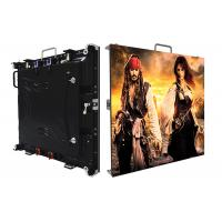 Quality Super High Contrast Outdoor Led Screen Hire IP65 Black Lamp Full Color 1r1g1b P3.91 for sale