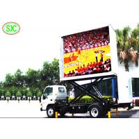 Quality P6 Mobile Digital Mobile Truck LED Display 192mm*192mm Module Size Fixed On Vehicle for sale