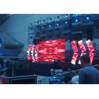 Light weight Seamless Outdoor Rental LED Display With Detection Button Noiseless