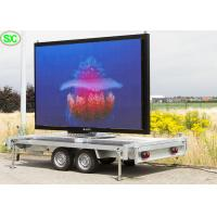 Quality Mobile Advertising Vehicle Led Display Electronic Billboards Outdoor P3.91 3840hz for sale
