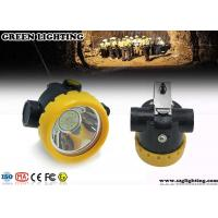 1W Safety Cree LED Mining Light With 2.2Ah Rechargeable Li - Ion Battery