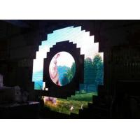 Quality Night Club p3 Curved LED Screen Bar Special Shape Video Super Clear Vision for sale
