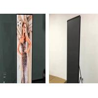 Quality Commercial advertising Digital Poster Display P1.935 Pixel Pitch Super Clear for sale