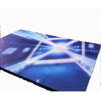 Quality P3.91 High Brightness 5mm Dance Floor LED Screen for Wedding Party for sale