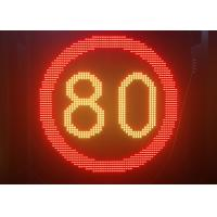 Quality P31.25 Highway Fixed Traffic LED Display With Waterproof Aluminum Cabinets for sale