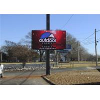 Quality 7500CD Outdoor P10 / P8 / P6 Front Service LED Display 10000 Dots/Sqm Pixel for sale