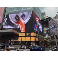 China AC110-220V P6.4 Outdoor LED Advertising Display , Die Cast LED Advertising board 1/4 Scan on sale