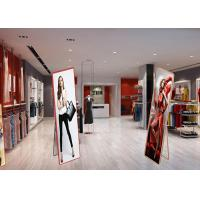 Quality Floor Standing LED Poster Display Screen Ultra Thin Advertising Panel for sale