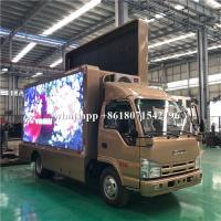 Mobile Advertising LED Scrolling Billboard Truck 5995×2190×3300mm For Road Show