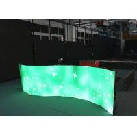Quality P3.91 P4.81 360 Degree Curved LED Screen With Die-cast Aluminum Cabinet 500 x 500mm for sale