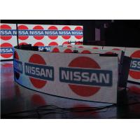 Quality Flexible Indoor P5 Curved Led Video Wall For Advertising , 5MM Pixel Pitch for sale